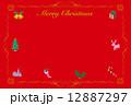 クリスマスカード 12887297