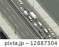 上空から見た橋 12887304