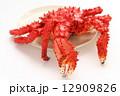 花咲ガニ 茹でガニ ボイル蟹の写真 12909826
