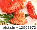 花咲ガニ 茹でガニ ボイル蟹の写真 12909972