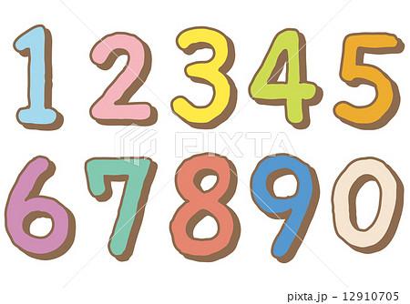 かわいい 数字 フォント