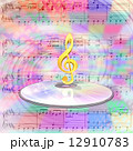 CDの上のト音記号と音楽配信 12910783