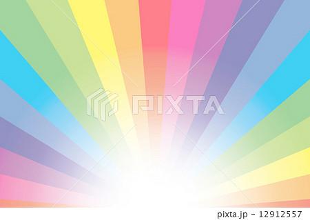 背景素材壁紙(薄虹色の放射,広告,宣伝,販促,販売促進,コマーシャル,チラシ,ポスター,アバター,アイコン,プロフィール)