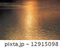 アルノ川 反射 川面の写真 12915098