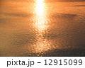 アルノ川 反射 川面の写真 12915099
