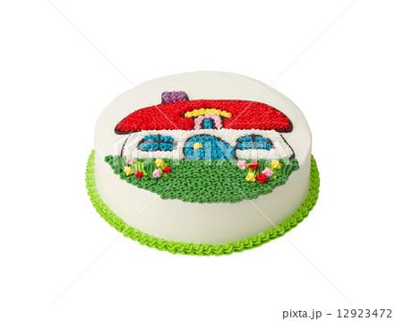 colorful birthday cakeの写真素材 [12923472] - PIXTA