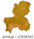 岐阜県地図 県地図 岐阜のイラスト 12926502