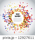 Rainbow Circle Pattern Background 12927611
