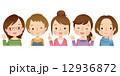 女性グループ 主婦 12936872