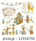 動物たちのクリスマス 12938792