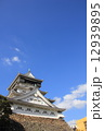 小倉城と青空 12939895