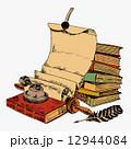 巻物 スクロール ブックのイラスト 12944084