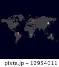 ワールド 世界 pinのイラスト 12954011