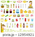 料理アイコン 12954921