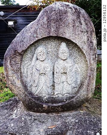 村の境界や、道の辻や三叉路などに祀られた路傍の神、道祖神。 12956132