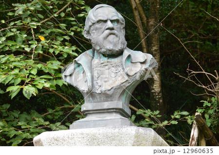 シーボルトの胸像(シーボルト宅跡/長崎県長崎市鳴滝) 12960635