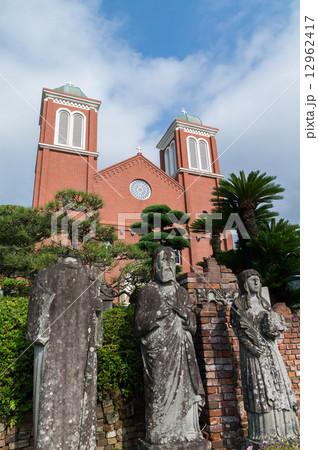 長崎 浦上天主堂 被爆聖人石像(世界遺産候補) 12962417
