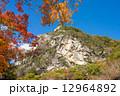 御岳昇仙峡 覚円峰 青空の写真 12964892