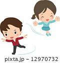 フィギュアスケートの選手 12970732