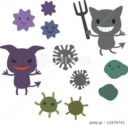 ばい菌とウィルス 12970741