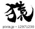 猿(さる)・・・文字 12971230