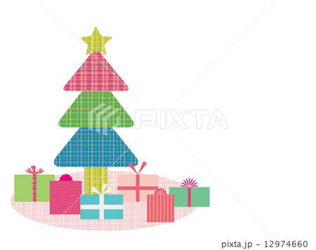 クリスマスツリー  プレゼント 12974660