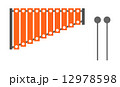 シンプルな木琴 12978598