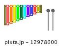 虹色木琴 12978600