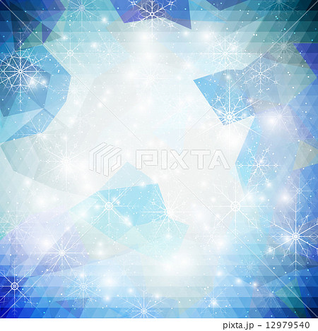winter background with snowflakes abstract winter design and