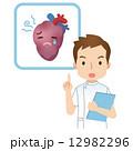 心臓病 看護師 医者のイラスト 12982296