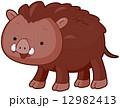 いのしし イノシシ 猪のイラスト 12982413