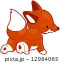 きつね キツネ 狐のイラスト 12984065