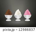 いちご チョコレート 立体のイラスト 12986837