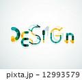 ワード 単語 デザインのイラスト 12993579