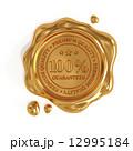 認定書 ワックス スタンプのイラスト 12995184