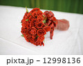 Wedding bouquet of red roses 12998136