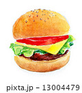 ハンバーガー 13004479