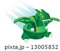 illustration cartoon robot - dinosaur toy 13005832