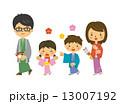 ベクター 家族 人物のイラスト 13007192