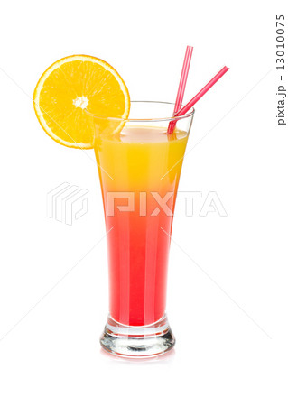 Tequila sunrise cocktailの写真素材 [13010075] - PIXTA