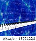 ピアノの鍵盤が演奏している 13021228