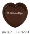 バレンタインデー ハート型 ハート形のイラスト 13026584