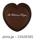 バレンタインデー ハート型 ハート形のイラスト 13026585