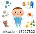 アレルギーと子ども 13027322
