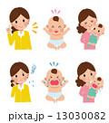育児 子育て 女性のイラスト 13030082