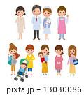 育児 女性 子育てのイラスト 13030086