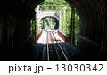 男山のケーブルカー(線路) 13030342