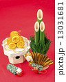 正月飾り 門松 お正月飾りの写真 13031681