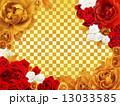 薔薇の年賀プレート 13033585