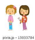 女性 振袖 着物 正月 矢 13033784